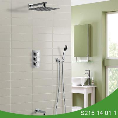 Concealed thermostatic shower set S215 14 01 1