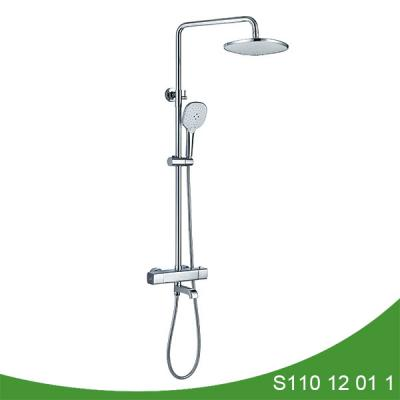 Thermostatic bathroom rain shower set S110 12 01 1