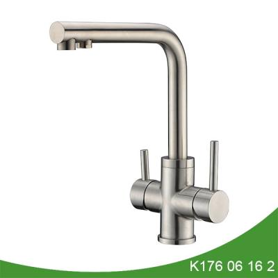Two handle kitchen faucet with filter K176 06 16 2