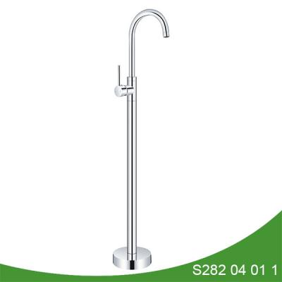 Bathroom freestanding utility tub faucet