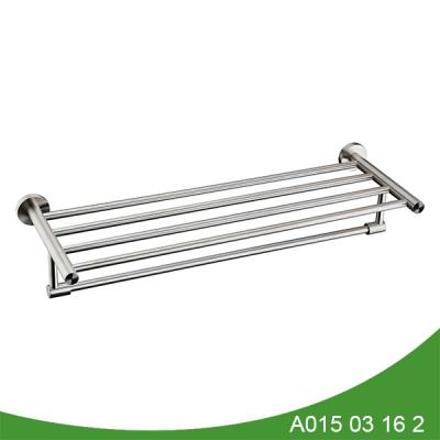 stainless steel double towel shelf A015 03 16 2