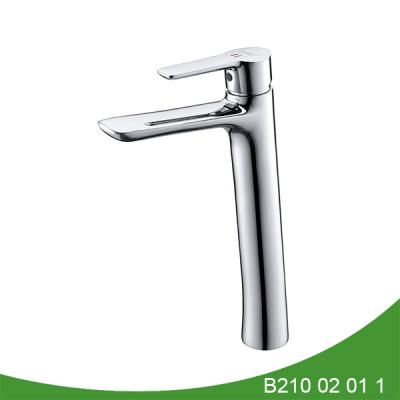 Contemporary basin mixer tap