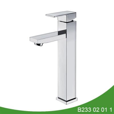 single handle basin faucet b233 02 01 1