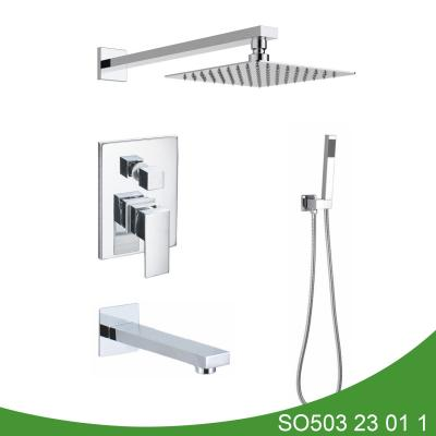 Hot and cold valve shower set SO503 23 01 1