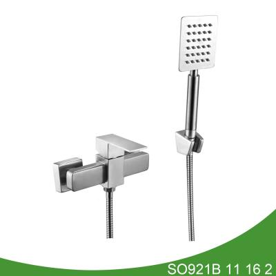 Stainless steel shower mixer SO921B 11 16 2