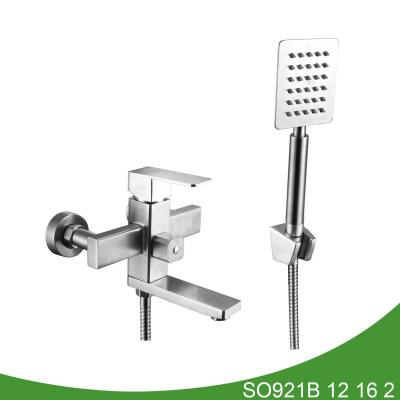 Stainless steel shower mixer SO921B 12 16 2