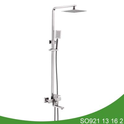 Stainless steel exposed shower set SO921 13 16 2