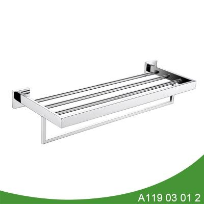 Stainless steel towel shelf A119 03 01 2